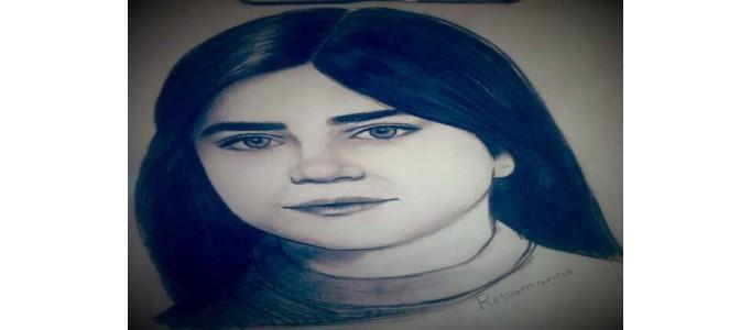 Karakalem Portre Çizimi 30X42 (A3)